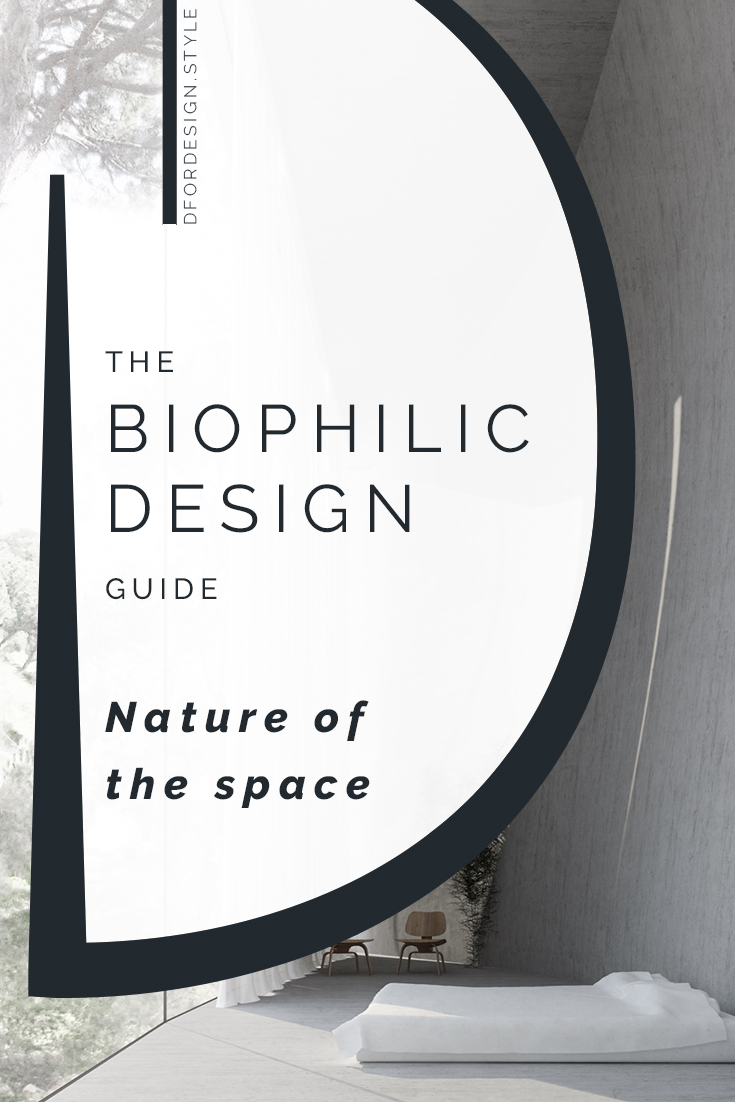 Biophilic design, nature of the space. Pin It.