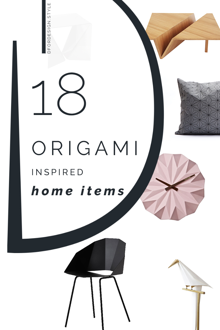 Origami inspired design. Pin It.