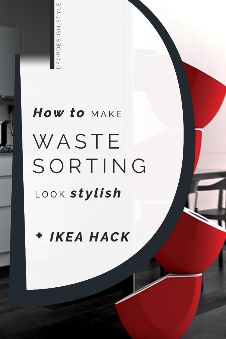 Waste recycling made stylish. Pin It.