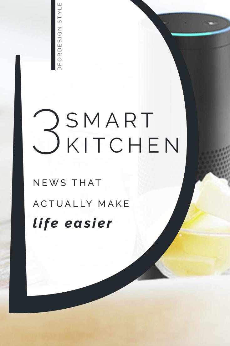 Smart kitchen. Pin It.