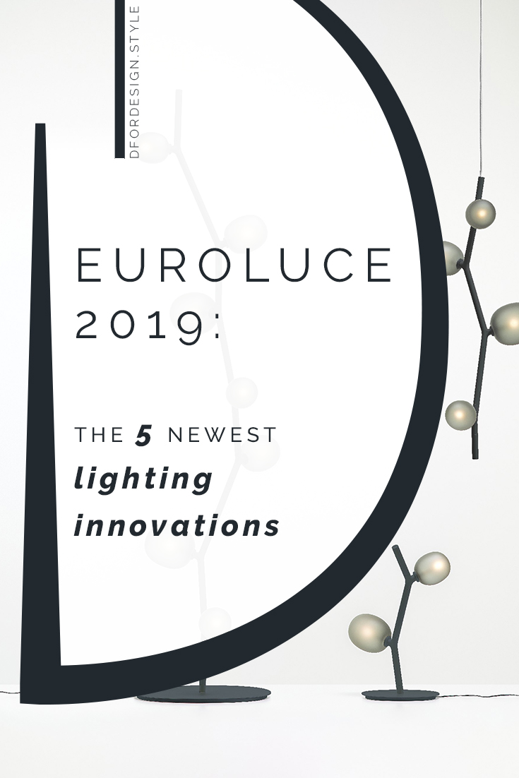 Euroluce 2019: the 5 newest lighting innovations. Pin it.