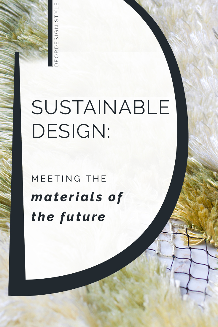 Sustainable design: biofabrication is the answer. Pin it.