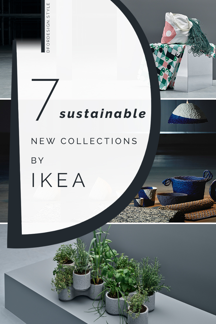 Sustainable design: IKEA Democratic Design Days 2019. Pin it.