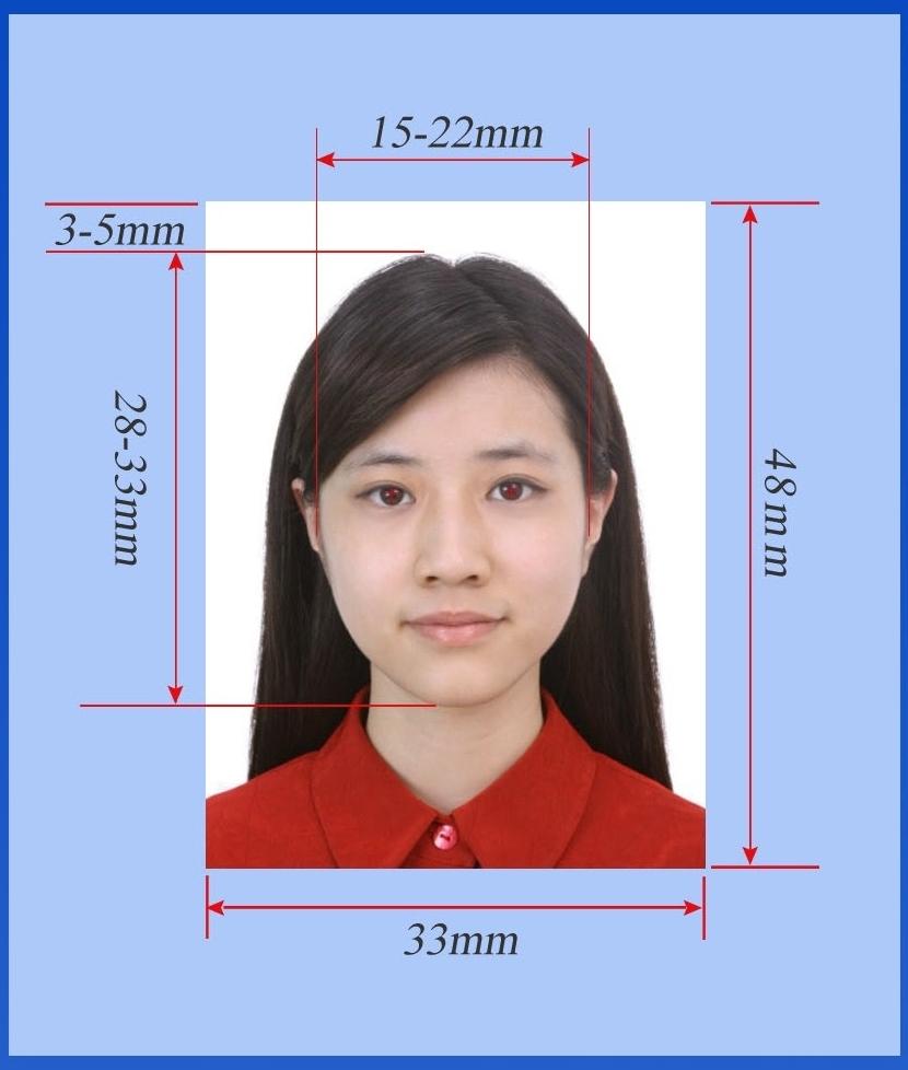 Размер фото пример