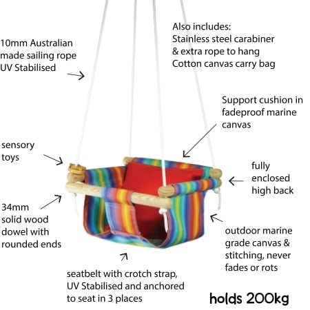 baby toddler kids swing information