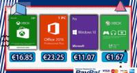 Windows 10 Pro za €11 i Office 2016 Pro za €23