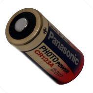 Panasonic baterija CR123A, 3 V