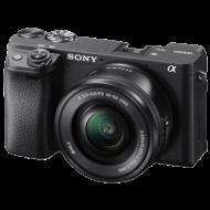 Sony Alpha SLT-A6400 SLR crni/plavi digitalni fotoaparat
