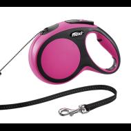 Flexi povodac New Comfort XS, 3m/8kg, rozi