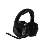 Logitech G533 gaming slušalke, USB/brezžične, črna, mikrofon