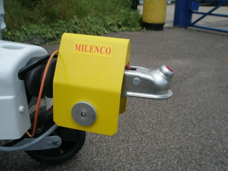 Milenco H/Duty Alko Hitch Lock