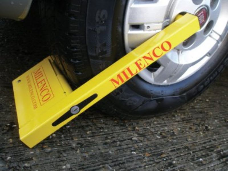 Milenco Compact Wheel Clamp