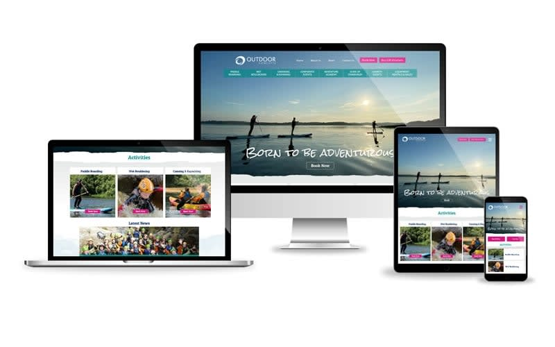 Outdoor Concepts Teams up with Kyber Digital to launch our new website