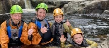Family Wet Bouldering