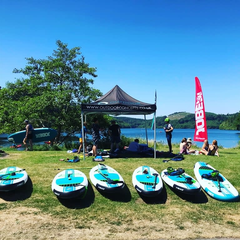 Outdoor Concepts Teams Up with Jobe to offer Stand Up Paddleboarding
