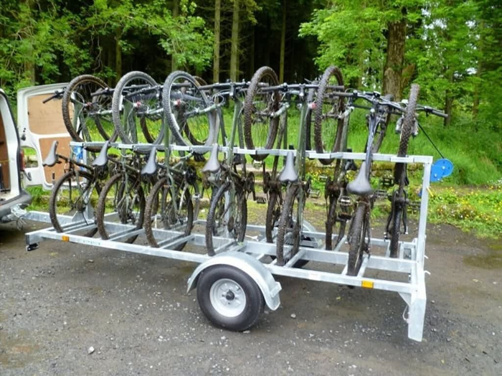 Mountain Bike Trailer Rental