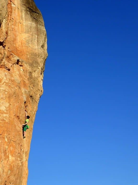 Staff Profile - Kevin Kilroy and his Winter in El Chorro, Spain