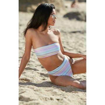 a45cff4fc5 Smocked Bandeau Bikini Top - Hinted