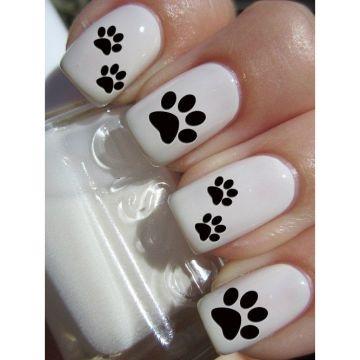 3b0f3449871 Team Spirit Paw Print Nail Art Decals