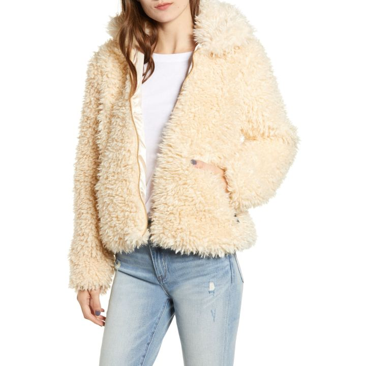 dc40b0e93fc Faux Fur Coat - Hinted