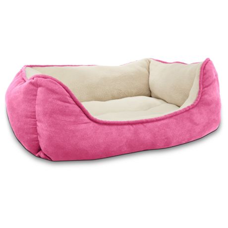 Petco Box Dog Bed in Pink - Hinted