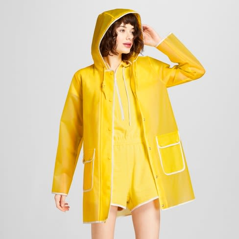 7325abb5133 Hunter for Target Women s Rain Coat - Yellow - Hinted