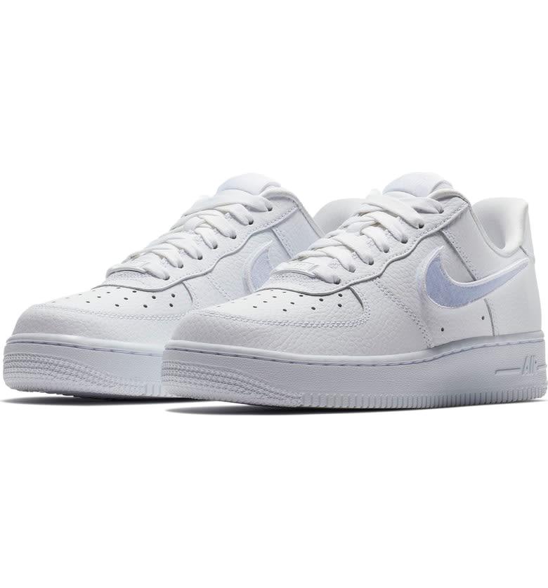 Air Force 1-100 Detachable Logo Sneaker - Hinted