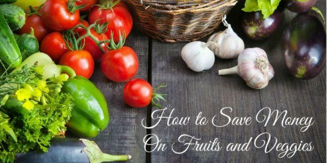 Save money on fruit & veg