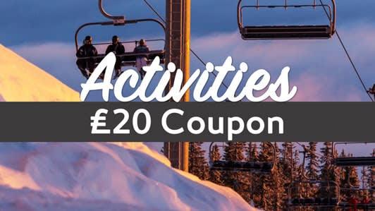 Expedia activities coupon