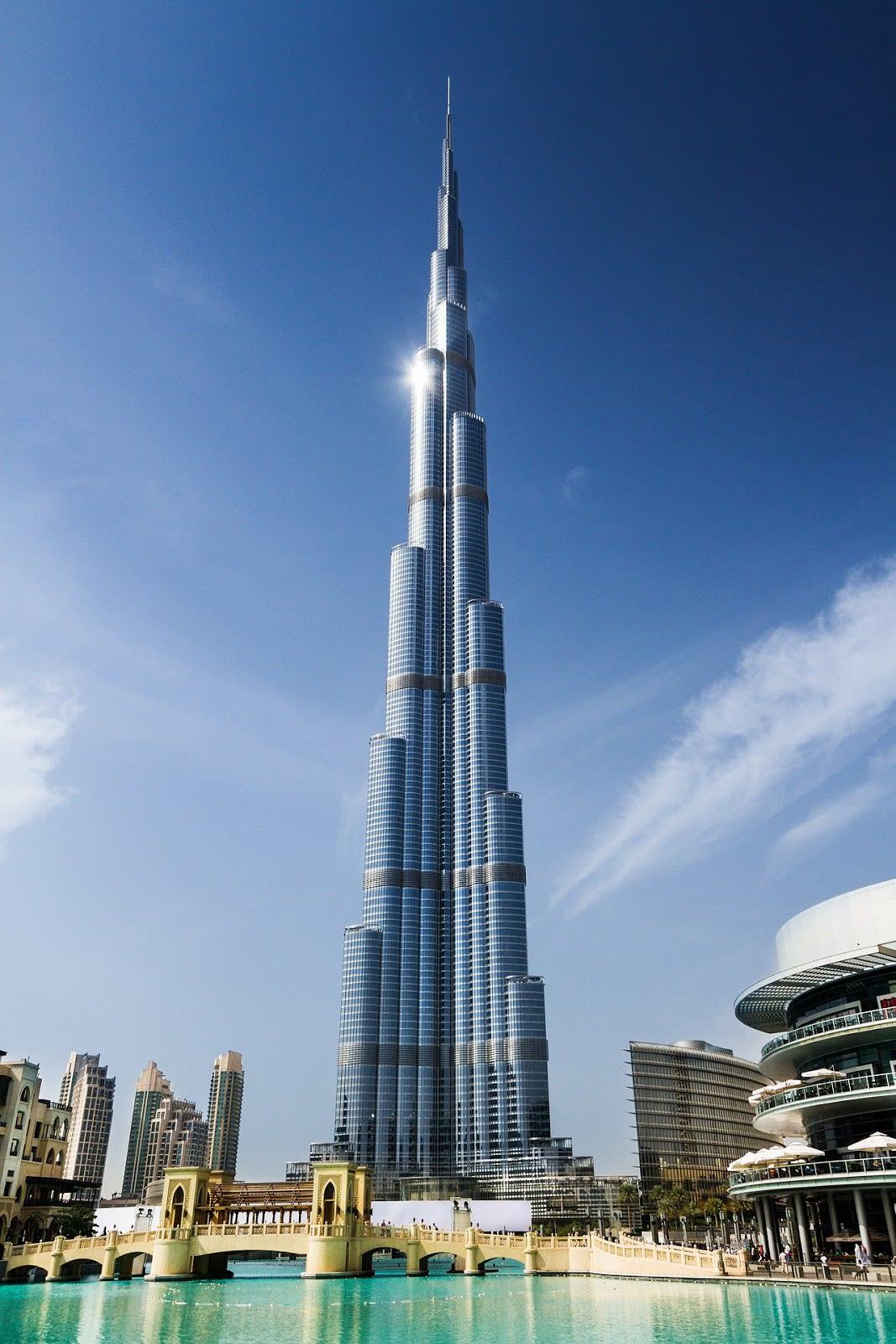 The tallest building Dubai