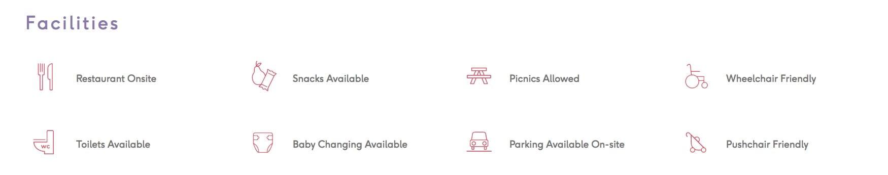 Danson Park facilities
