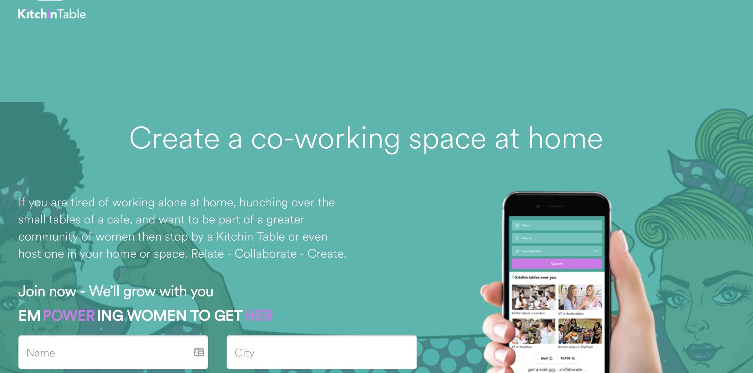 Kitchin Table app