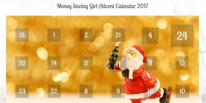 Money saving advent calendar 2017 – Full of useful tips