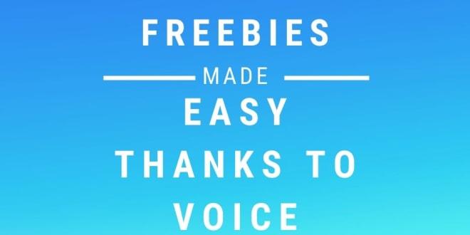 freebies form voice assistants