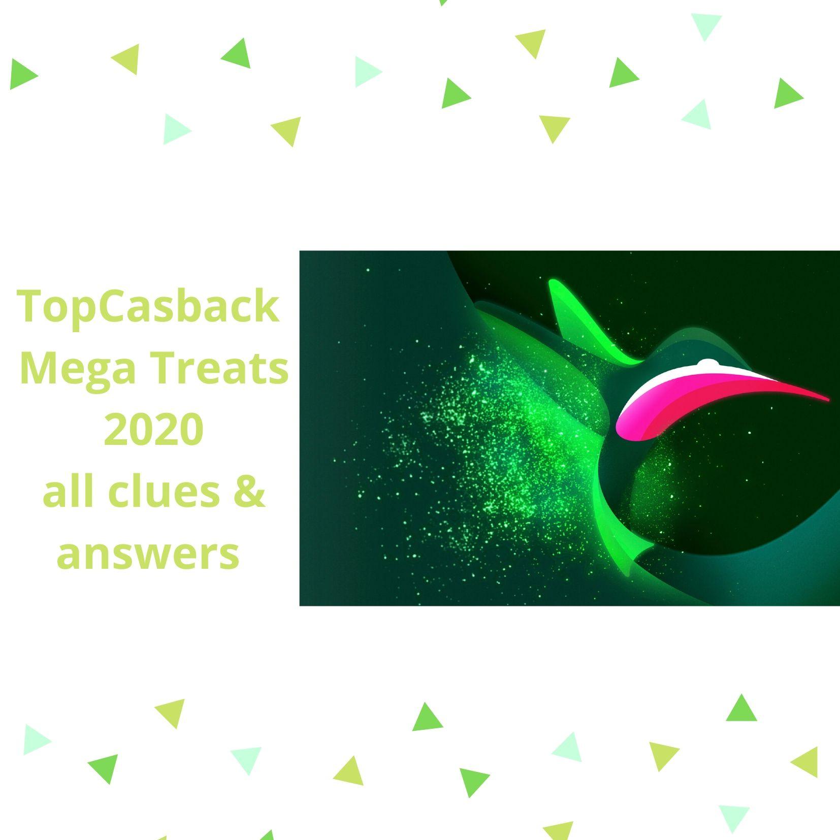 TopCashBack Mega Treats 2020
