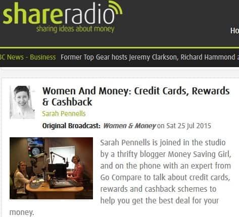 Women &Money: Rewards Credit Cards - Share Radio Podcast