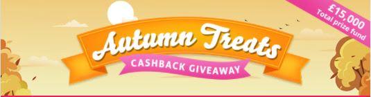 Autumn Treats 2021 - Topcashback Competition