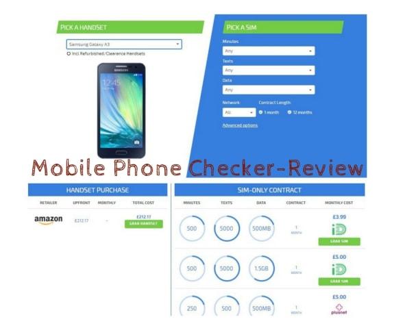Mobile Phone Checker