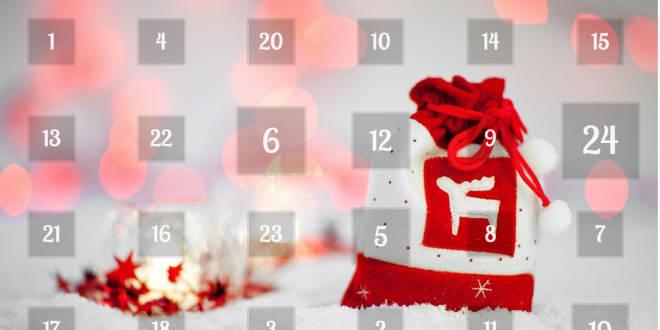 Money Saving Advent Calendar 2016