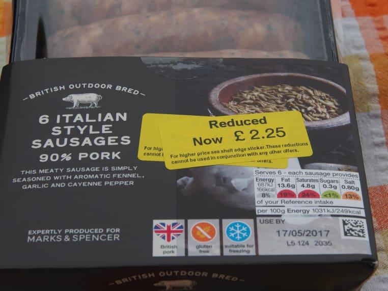 Italian Style Sausage