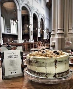 Coffee in the church - host coffee London