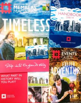 English Heritage membership pack