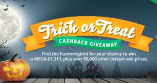 2021 Trick or treat Answers Topcashback