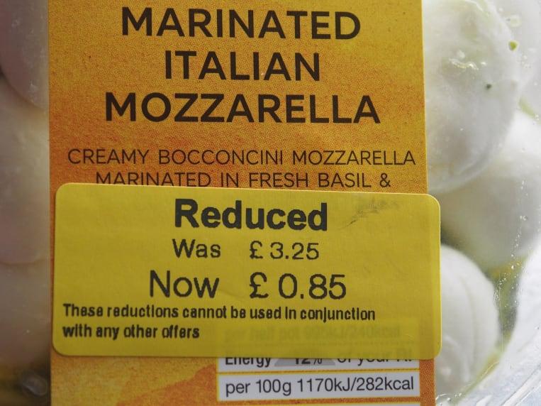 Reduced M&S Mozarella