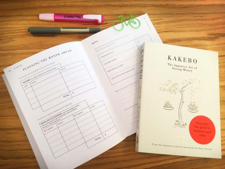 Kakebo Journal 6.99 WHSmith or Amazon