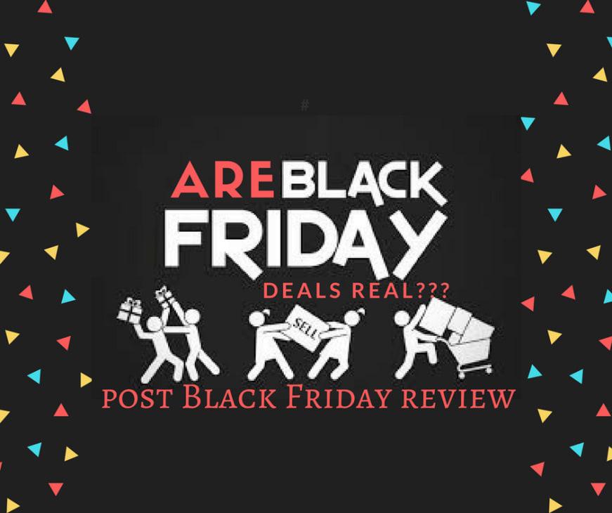 post black Friday prices