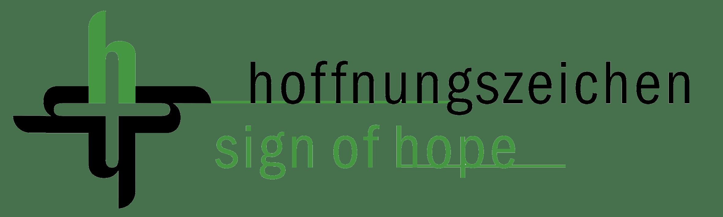 Hoffnungszeichen logo