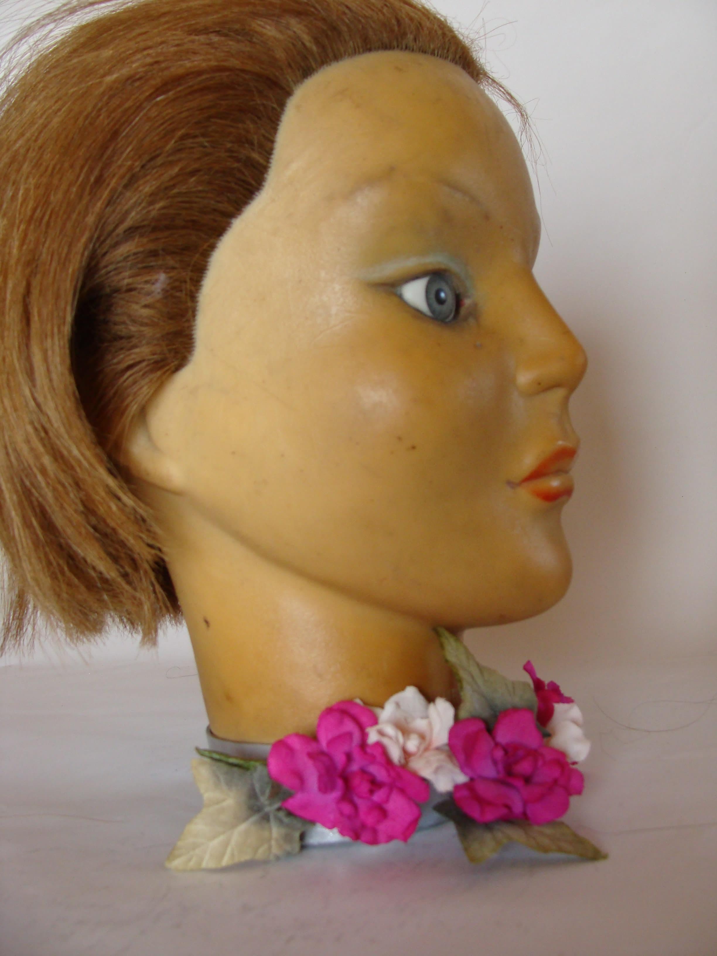 Serre tête à fleurs