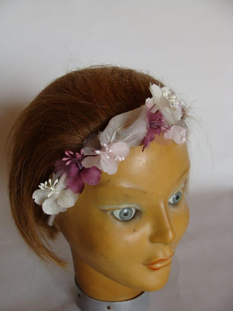 Serre tête fleurs
