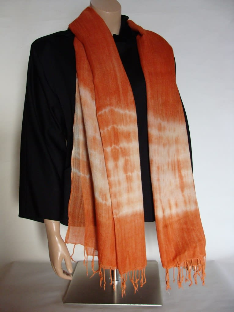 Écharpe laine et soie